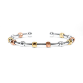 "Golf Goddess golf strokes zähler ""Chelsea Charles  - silberne, gold und rotgold charms"