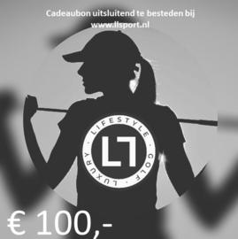 Cadeaubon € 100,-