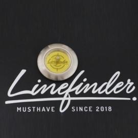 Linefinder - edelstaal met geel