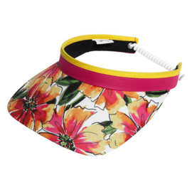 "Damen Visor ""Glove It"" - design Sangria"