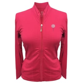 "Damen Sportjacke ""Titania"" Roza - design Golfball und Tee"