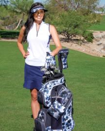 """Dames golfhandschoen """"Glove It"""" – design Indigo Poppy"""