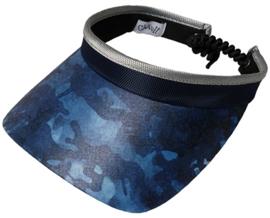 "Dames zonneklep / visor ""Glove It""– design Blue Camo"