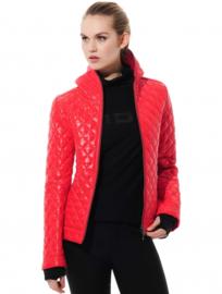 Shiny Puffer Rood - winterjas