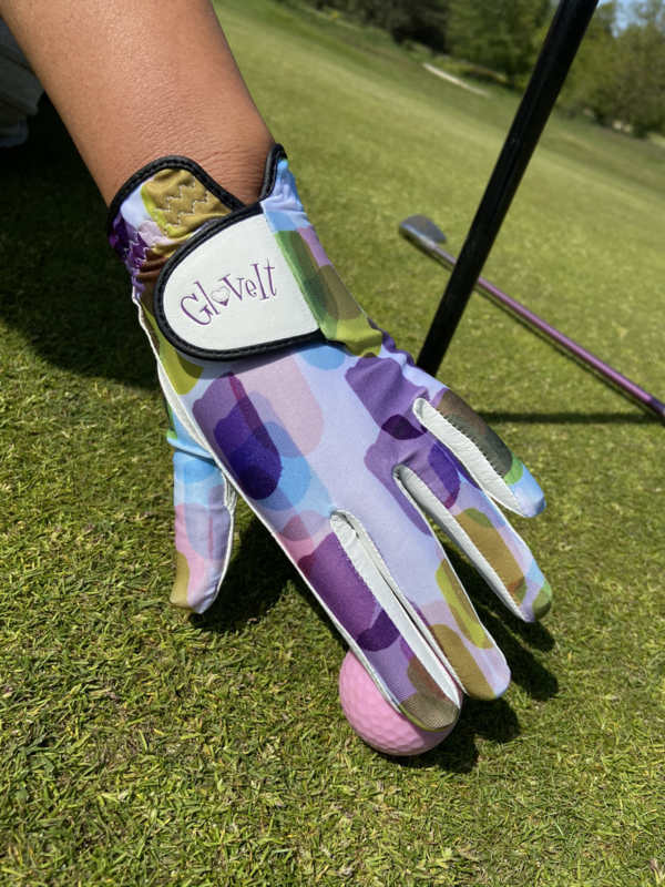"Dames golfhandschoen ""Glove It"" – design Geo Mix"