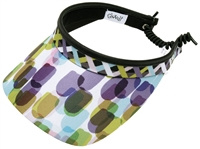 "Dames zonneklep / visor ""Glove It""– design Geo Mix"