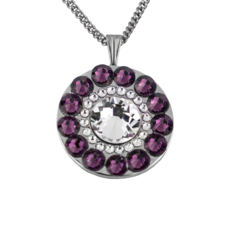 "Princeville Purple golfbal marker ""Girls Golf Bling""– paars / zilver.  Vanaf: €20,95 - €29,95"
