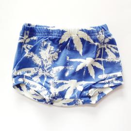 Shorts, maat 56, palmbomen blauw