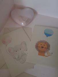 Schattige Kinder Baby Kaarten