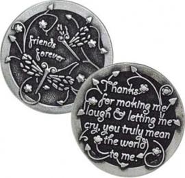 Muntje Vrienden voor het leven