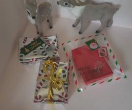 Inpakken als leuk Kerstgeschenkje met Kerstkaartje