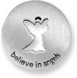 Geloof in engelen muntje