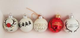 Kerstballen, met Naam!