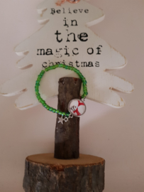 Schattige Kerstarmbandjes!