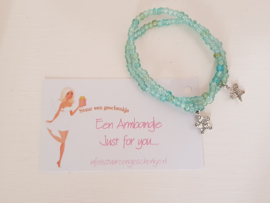 2 Armbandjes Just for You, armbandje voor jou en voor....