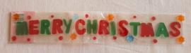 Gel Letters Merry Christmas in vrolijke kleurtjes