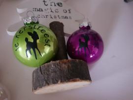 Kerstballen 1e Kerstfeest