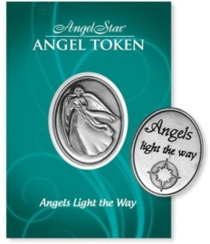 Angels light the way token