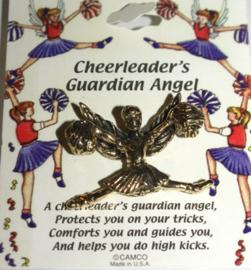 Opsteker Beschermengel voor Cheerleaders