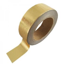 Washi-tape goud