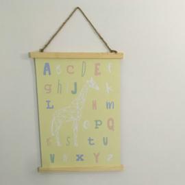 Poster A3: Alfabet