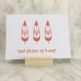 Set van 3 kampkaartjes