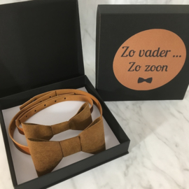 BOW TIE - Zo vader, zo zoon