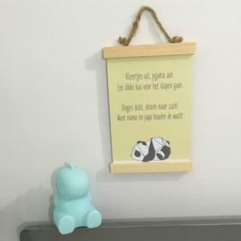 Spreuken om de kinderkamer op te leuken
