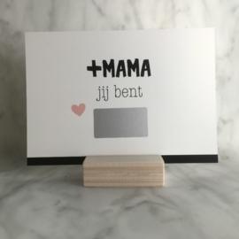Kraskaart '+MAMA'
