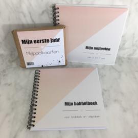 Pakket: uitsprakenboekje + mijlpalenboekje + mijlpaalkaarten  ROOS
