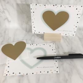 Set van 5 kraskaarten (maak je eigen kraskaart)