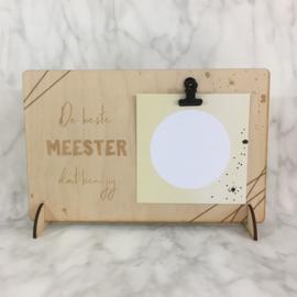 Clipboard - meester