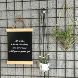Spreuken om alles op te leuken (zwart-wit)
