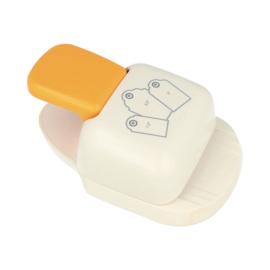 labelpons (met 3 verschillende vormen)