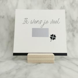 Kraskaart 'Ik wens je veel beterschap'