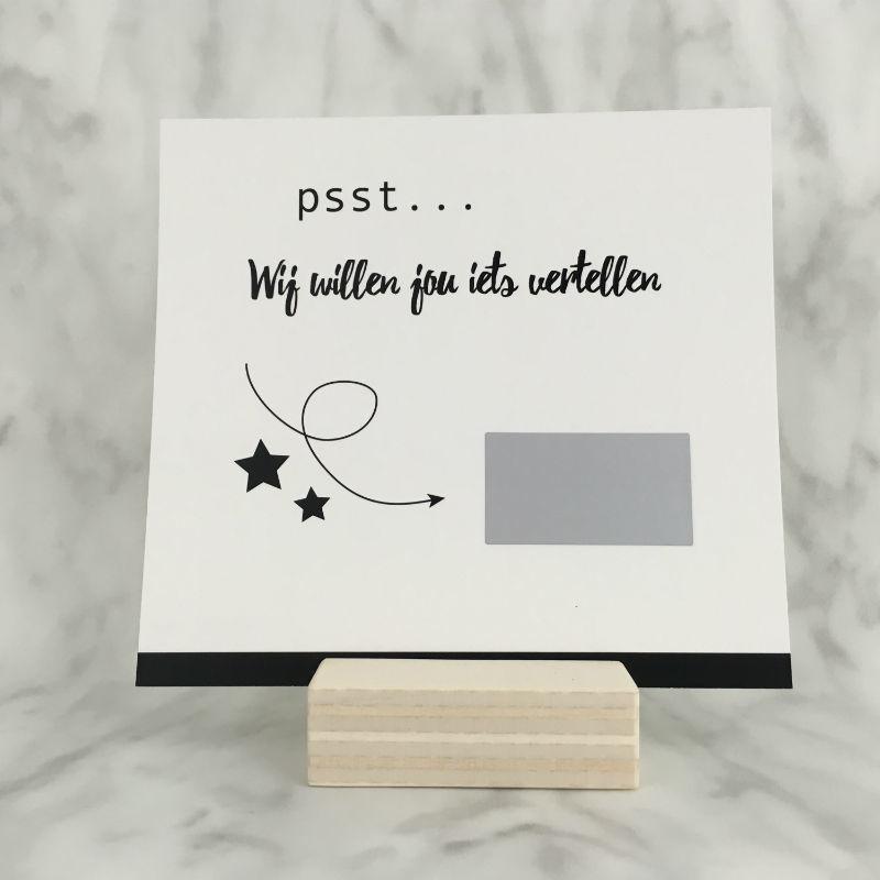 Kraskaart 'Jij wordt OMA/OPA!'