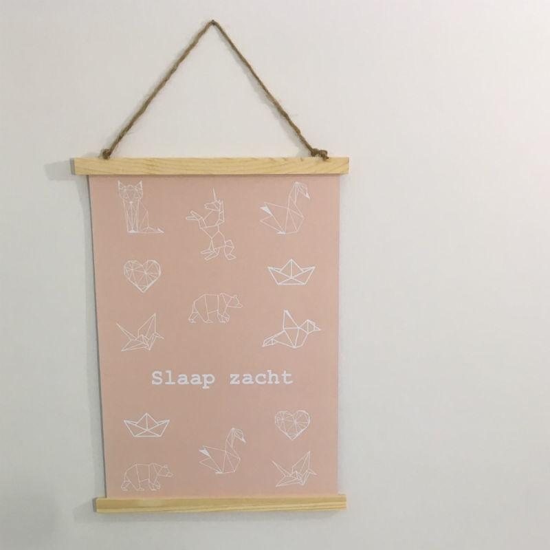 Poster A3: Slaap zacht
