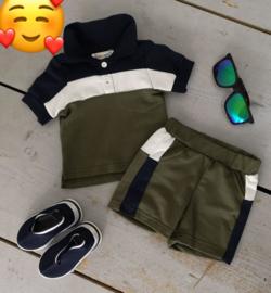 Polo short set
