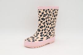 Leopard regenlaarzen