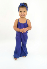 Jumpsuit with flair blauw