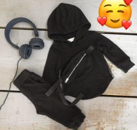 Hoody zippers  set (3 kleuren)