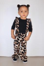 Leopard suspender flared