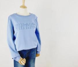 VINTAGE sweater blue