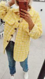 LOUA jacket yellow and white