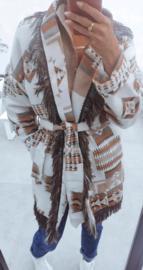 INDIANA wrap jacket beige