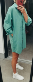 FAYE shirt dress green