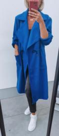 WINTER FRANCA trenchcoat royal blue