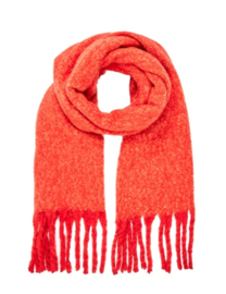 COZY scarf coral