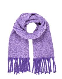 COZY scarf purple
