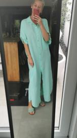 CARRY curvy maxi tetra dress mint